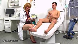 Nurse Stefania knows how to push around patients Full XXX